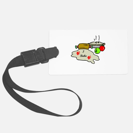 i bake pie.png Luggage Tag