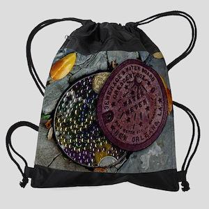 underthrow_print Drawstring Bag