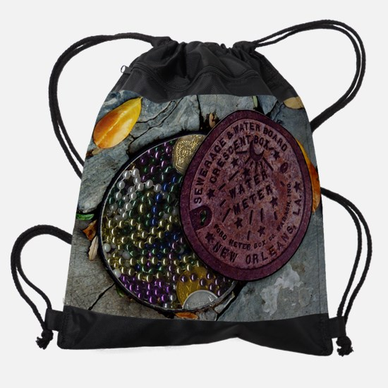 underthrow_print.jpg Drawstring Bag