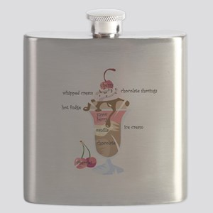 anatomy of a sundae Flask