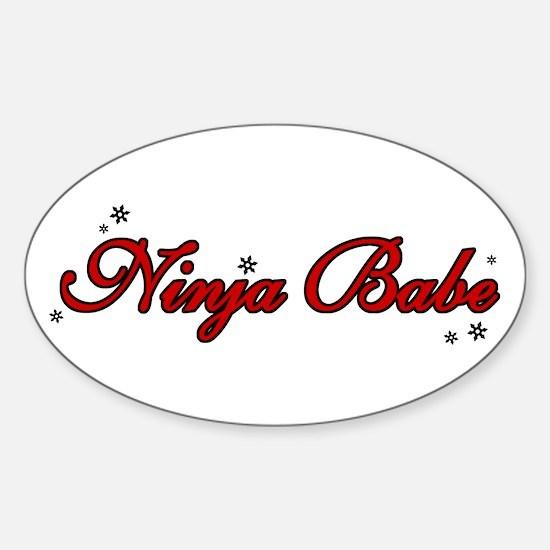 Ninja Babe Decal