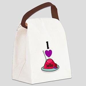 i heart jello Canvas Lunch Bag