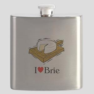 I love brie Flask