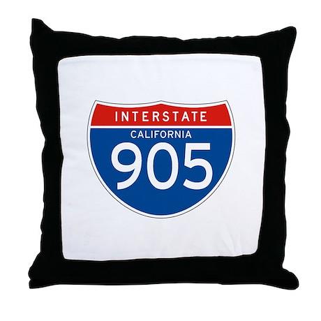 Interstate 905 - CA Throw Pillow