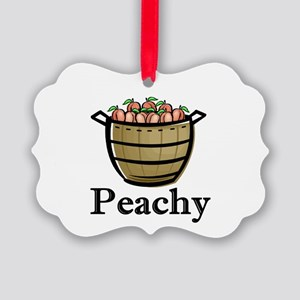 peachy Picture Ornament