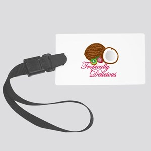tropically delicious Large Luggage Tag