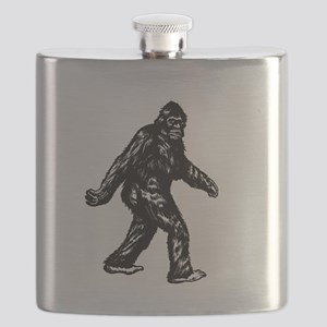 GONE SQUATCHIN BIGFOOT TSHIRT Flask