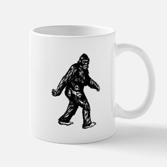 GONE SQUATCHIN BIGFOOT TSHIRT Mug