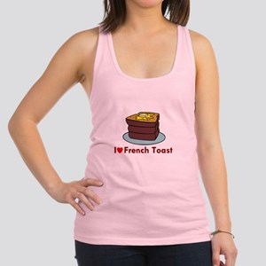 i love french toast Racerback Tank Top