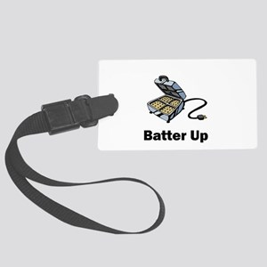 batter up Large Luggage Tag