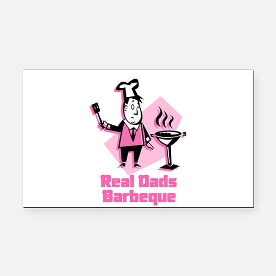 real dads.jpg Rectangle Car Magnet