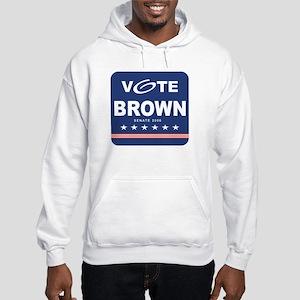 Vote Sherrod Brown Hooded Sweatshirt