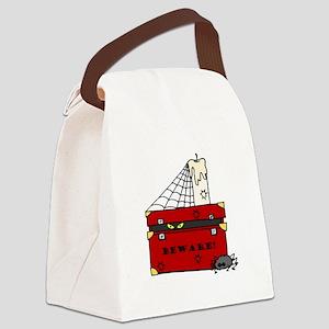 beware Canvas Lunch Bag