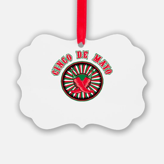 Cinco de Mayo button.jpg Ornament
