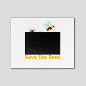 save the bees Picture Frame