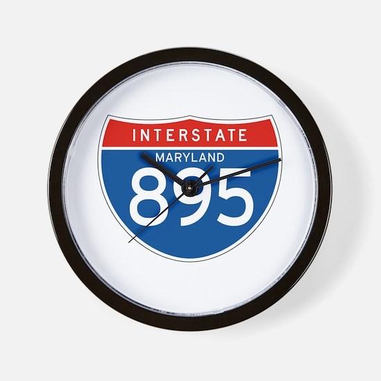 Interstate 895 - MD Wall Clock