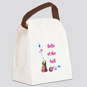 belle of the ball Canvas Lunch Bag