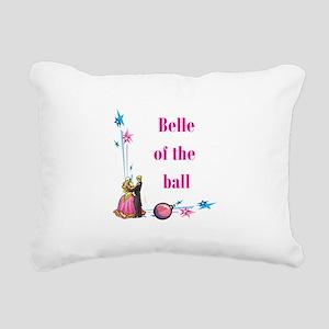 belle of the ball Rectangular Canvas Pillow