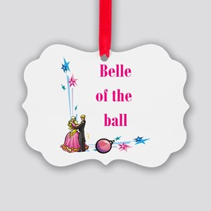 belle of the ball Picture Ornament
