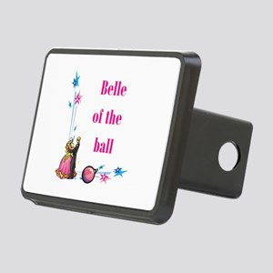 belle of the ball Rectangular Hitch Cover
