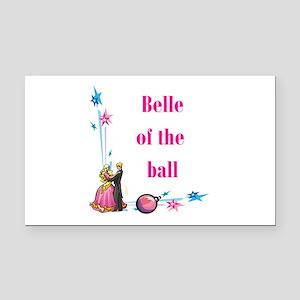 belle of the ball Rectangle Car Magnet