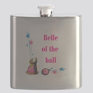 belle of the ball Flask