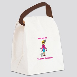 hotel heiresses Canvas Lunch Bag