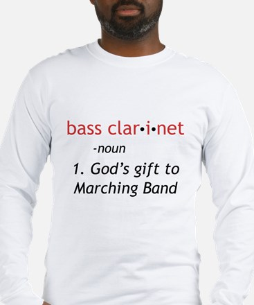 Bass Clarinet Definition Long Sleeve T-Shirt