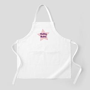 Hailey Rules BBQ Apron
