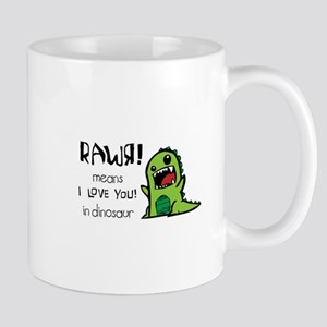 RAWR ILY Mug