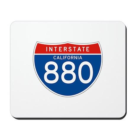 Interstate 880 - CA Mousepad