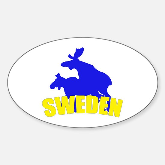 Sweden Oval Decal
