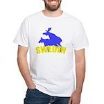 Sweden White T-Shirt