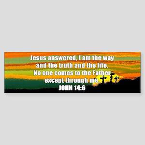 John 14:6 Bumper Sticker