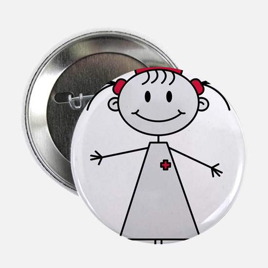 """nurse 2.25"""" Button"""