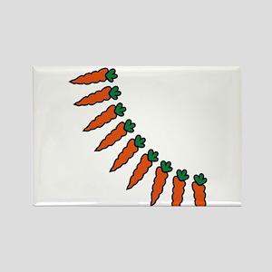 carrots Rectangle Magnet