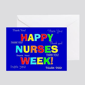 Happy Nurses week CP 1 Greeting Cards (Pk of 20)