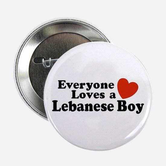 Everyone Loves a Lebanese Boy Button