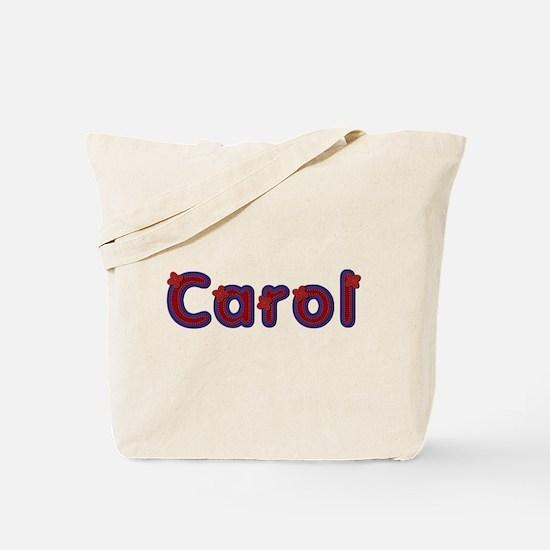 Carol Red Caps Tote Bag