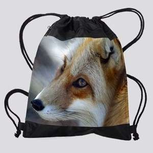cp_red fox8 Drawstring Bag