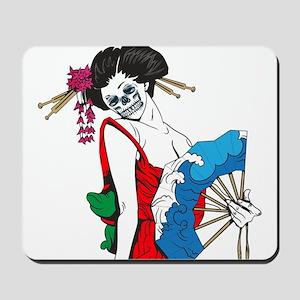 Zombie Geisha Mousepad