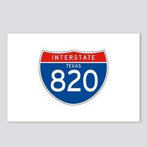 Interstate 820 - TX Postcards (Package of 8)