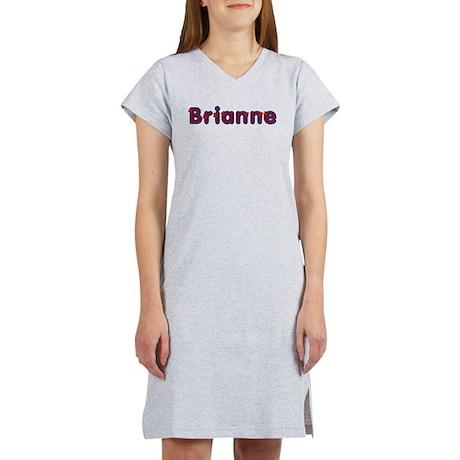 Brianne Red Caps Women's Nightshirt