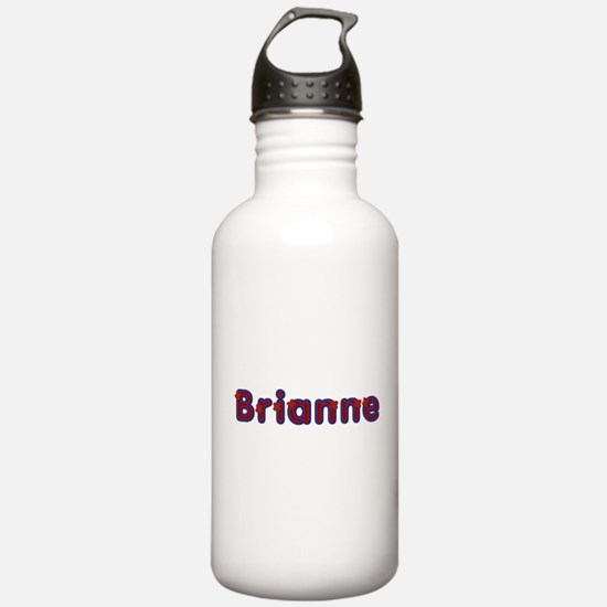 Brianne Red Caps Water Bottle