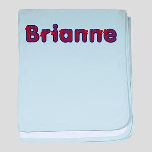 Brianne Red Caps baby blanket