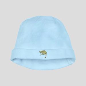 Muskrat Animal baby hat