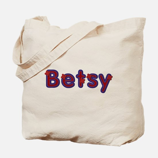 Betsy Red Caps Tote Bag