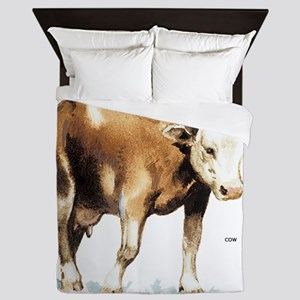 Cattle Cow Farm Animal Queen Duvet
