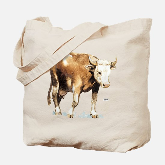 Cattle Cow Farm Animal Tote Bag