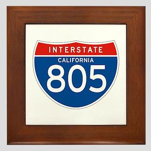 Interstate 805 - CA Framed Tile
